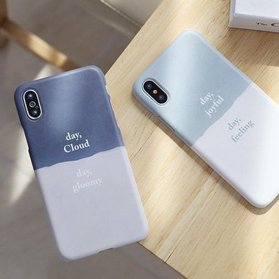 韓國 紙心情 硬殼 手機殼│iPhone 5S SE 6 6S 7 8 Plus X XS MAX XR│z8355