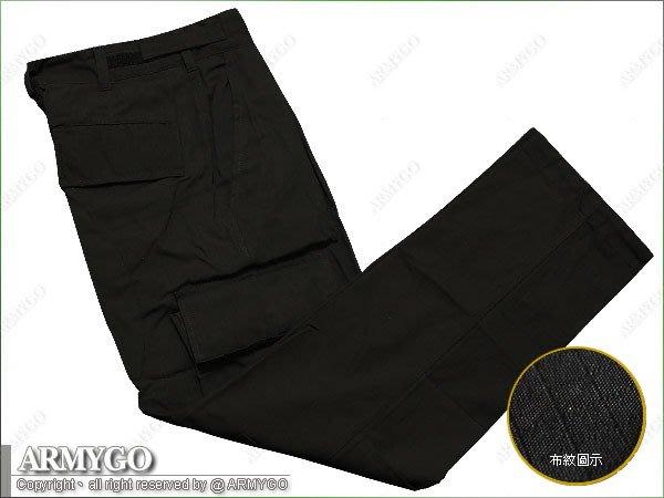 【ARMYGO】黑色BDU長褲(B款)