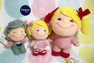 一番街禮物專賣店☆日本帶回☆水森亞土--兩小無猜男女孩娃娃~單件小隻價~超迷人禮物首選!