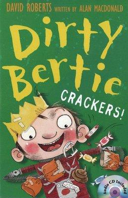 *小貝比的家*DIRTY BERTIE CRACKERS/平裝書+CD/7-12歲