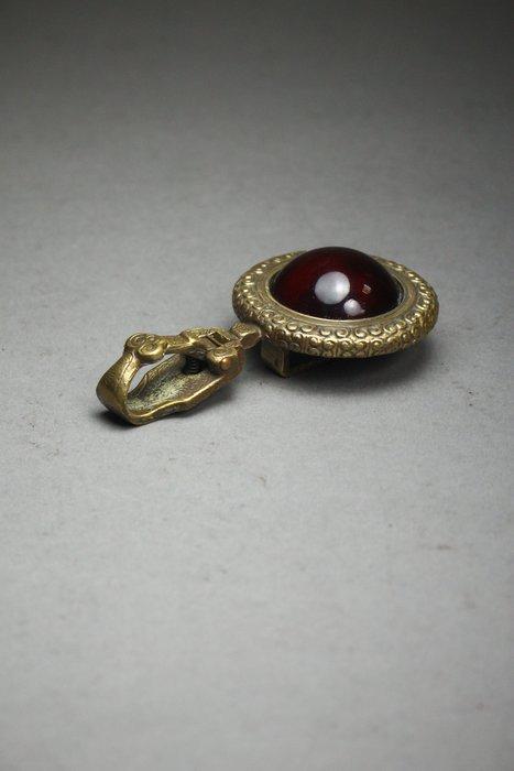 悅年堂 --- 銅 帶扣 飾件