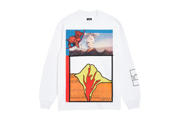 "[ LAB Taipei ] THE TRILOGY TAPES "" VOLCANO L/S TEE """