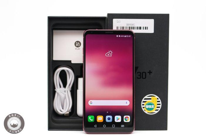 【台中青蘋果】LG V30+ H930DS 128GB 紅 6吋 4GB RAM 二手手機  #31297