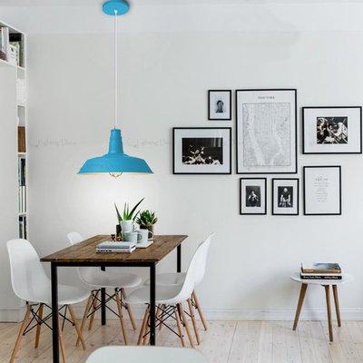 【Lighting.Deco】工業風RH Loft2 Light meals 鐵藝吊燈 挑戰全網最低價 工業吊燈 天空藍