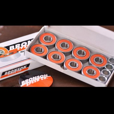 〔Bigforty〕Bronson - G2 Skateboard Bearings 滑板專用培林
