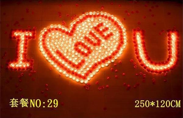☆創意小物店☆ 心型套餐NO:29/排字蠟燭/求婚蠟燭/生日蠟燭/情人節禮物 浪漫表白必備