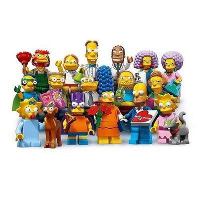 (bear)全新現貨 樂高 LEGO 71009 辛普森 第二代人偶 2代 一套 16隻