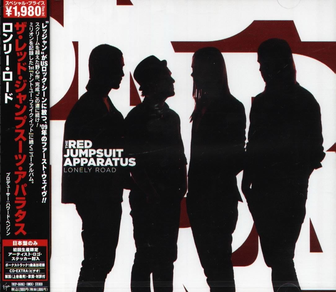 K - THE RED JUMPSUIT APPARATUS Lonely 日版 CD+VIDEO+1BON NEW