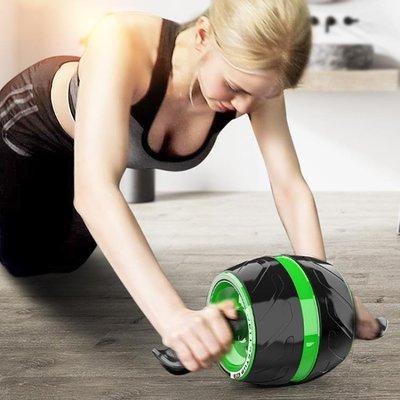 回彈健腹輪腹肌輪初學者巨輪健身器材家用男女減肚子靜音滾輪滑輪