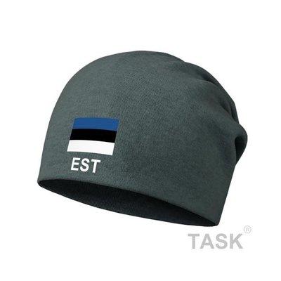 TASK 愛沙尼亞Estonia 國家薄款包頭帽防風睡堆堆帽子男女圍脖頭巾春秋