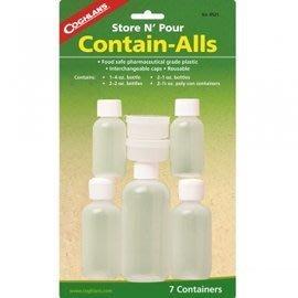 【速捷戶外】COGHLANS #8525 旅行瓶罐組 CONTAIN-ALLS