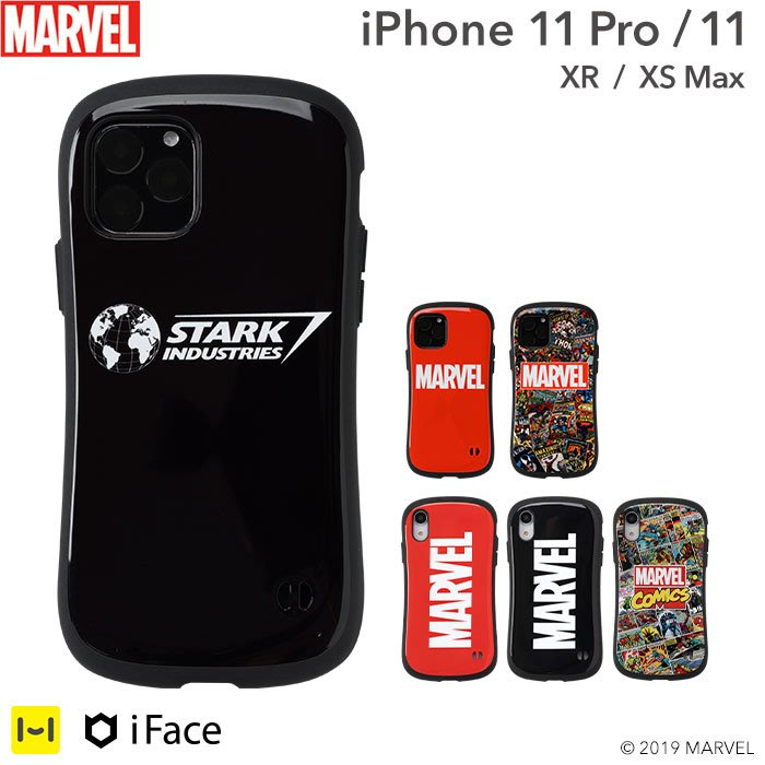 《FOS》日本 iFace iPhone 11 Pro MARVEL 漫威 鋼鐵人 手機殼 保護殼 防震 防摔 防刮