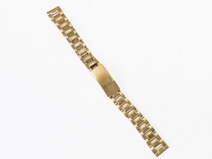 全鋼手錶錶帶 不鏽鋼錶帶 鋼帶 勞力士可用 – 平口 - 全金 - 多尺寸可選