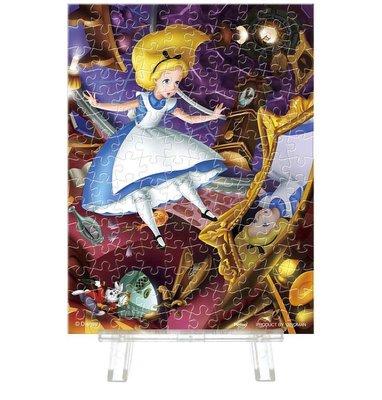 日本正版拼圖 迪士尼 愛麗絲夢遊仙境 Alice in Wonderland 150片迷你透明塑膠拼圖 2308-04