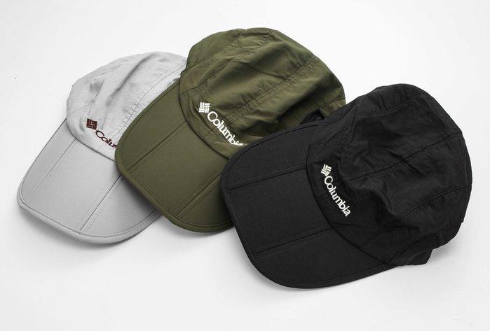 呈現攝影-Columbia 三件式遮陽帽 攝影帽 防曬帽 透氣 帽子便帽+前後遮陽片可拆式 抗UV外拍