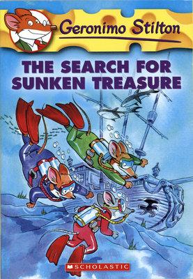 *小貝比的家*GERONIMO#25 : THE SEARCH FOR SUNKEN TREASURE/平裝/7~12歲