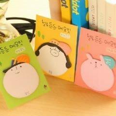 韓國可愛頭像N次貼 便利貼-艾發現