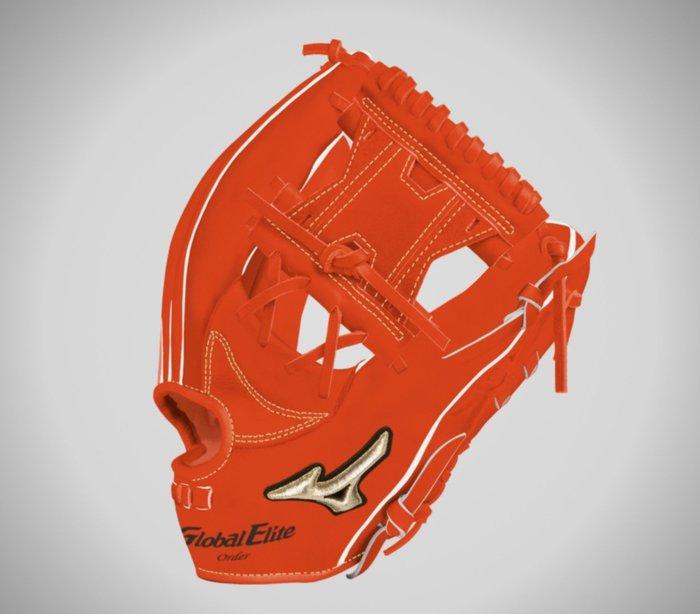 貳拾肆棒球-Mizuno global elite 5DNA 客製硬式手套