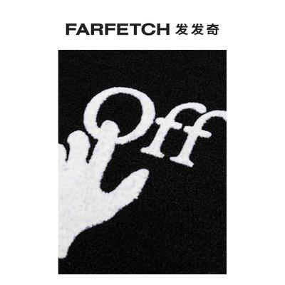 Off-White男女通用Hand logo門墊 FARFETCH 發發奇進口地毯地墊