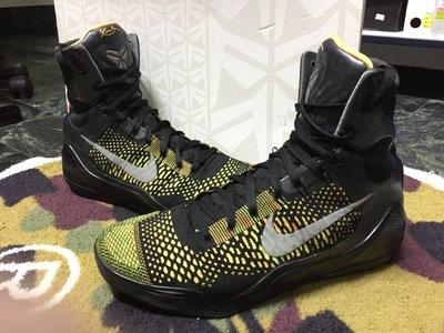 Nike Kobe 9 elite 李小龍 lunar zoom jordan lebron US10.5