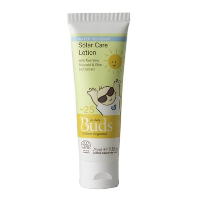 Buds - Solar Care Lotion SPF25 有機日用防曬乳液 SPF25 75ml