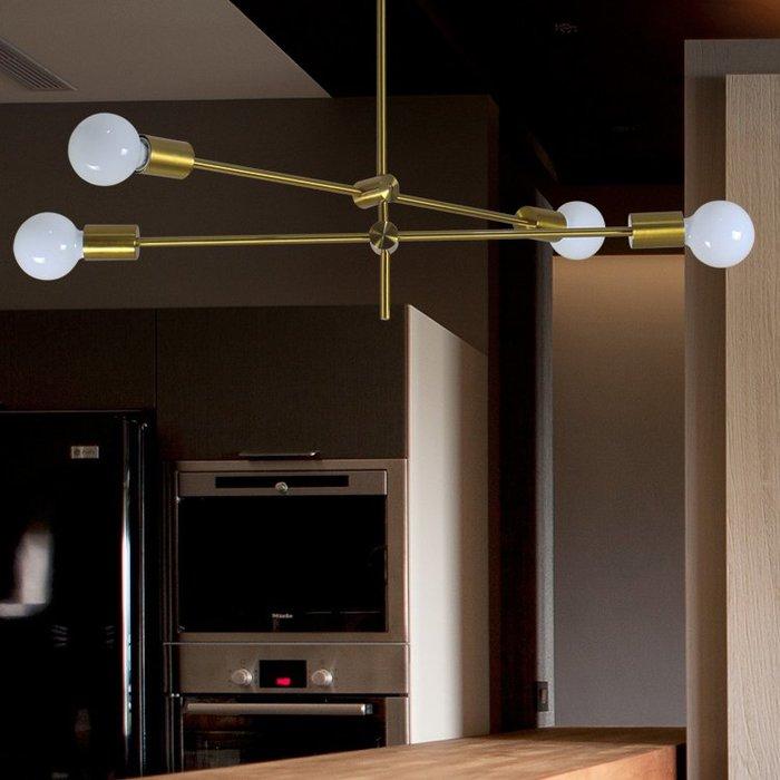 【58街】「平衡水平吊燈」極致典雅品味/燈具/美術燈。複刻版。GH-574