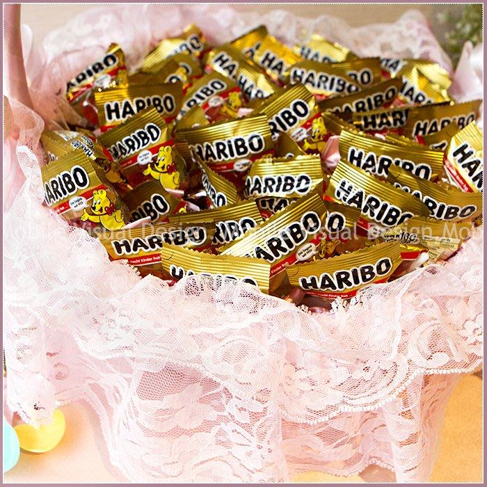 幸福鏟子「德國小熊軟糖」X100份+大提籃X1個(限宅配)-生日分享/幼兒園活動獎/二次進場婚禮小物/送客喜糖/幸福朵朵