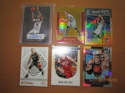 網拍讀賣~Brook Lopez~籃網隊球星~羅培茲~超低限量簽名卡/24~直簽~十字軍限量卡/149~限量卡/199/