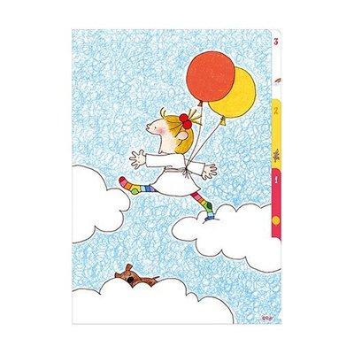 *COSY CORNER* COCO and Wondrous Gang 日本製 A4三層 文件夾/檔案夾/收納夾 氣球