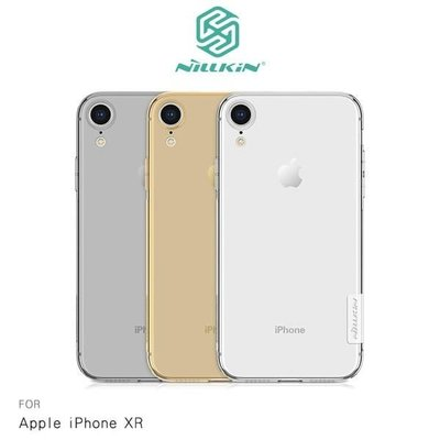 【愛瘋潮】NILLKIN Apple iPhone XR 本色TPU軟套 減震防刮 超強柔韌