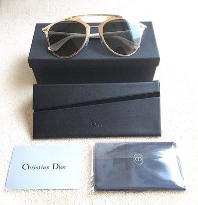 國際精品 Dior Reflected Sunglasse Gold Medium Gradient 金屬 墨鏡