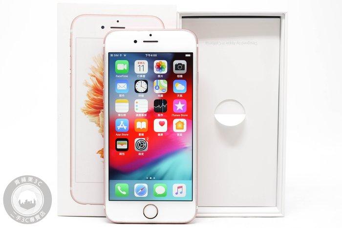 【高雄青蘋果3C】APPLE IPHONE 6S 128G 128GB 玫瑰金 4.7吋 二手手機 #54648