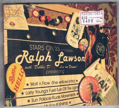 [鑫隆音樂]西洋CD-Stars On 33 Introduce Ralph Lawson/全新/免競標