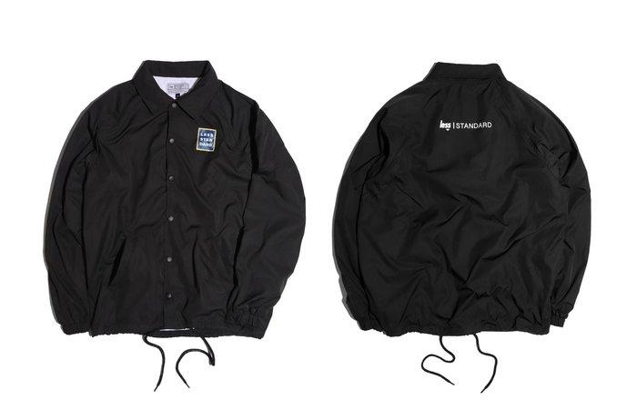 { POISON } LESS STARDARD SIGNBOARD COACH JACKET 麗斯招牌設計教練外套