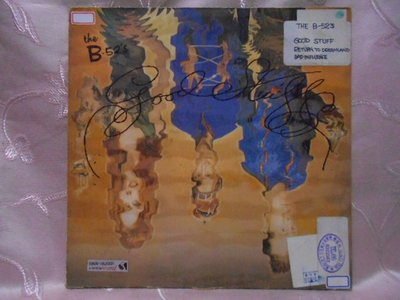 【采葳音樂網】西洋黑膠–THE B-52'S樂團〝GOOD STUFF/RETURN TO DREAMLAND〞1184