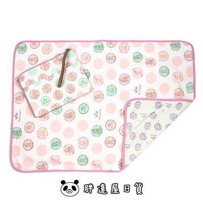 ✪胖達屋日貨✪日本 阿卡將限定 新生兒 嬰兒 尿布墊 附專屬收納袋 迪士尼公主系列