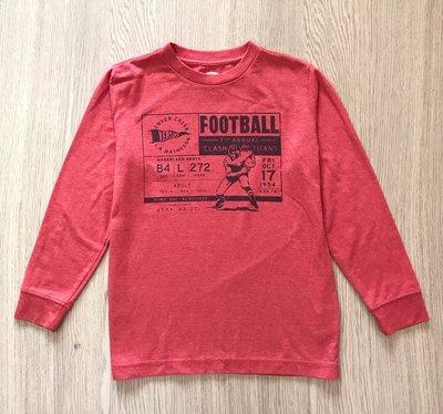 【Julia Shop 二手男童區】Old Navy男童Football長袖棉T /   S( 6 - 7 T )
