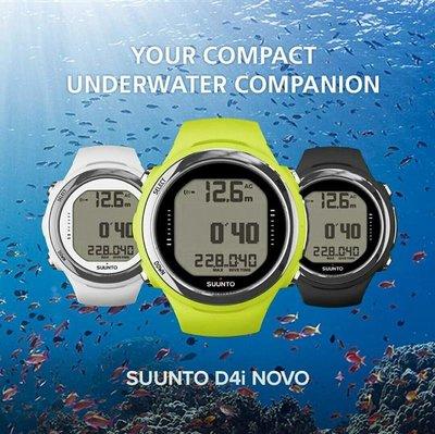 游龍潛水•SUUNTO NEW D4i NOVO 潛水電腦錶本店加送錶面保護套