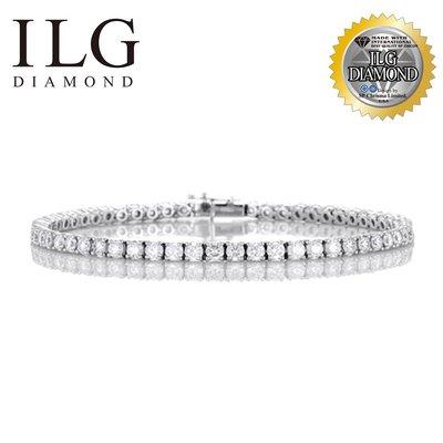 【頂級美國ILG鑽飾】Lily's Bracelet-0.10克拉 BR005