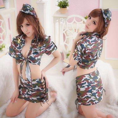 情趣內衣 情趣內衣褲 制服誘惑 性感情趣內衣女警察服女兵迷彩服女警服女士兵服制服誘惑激情套裝