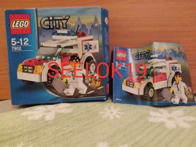 LEGO 7902 Doctor's Car