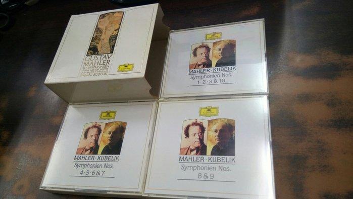 好音悅 半銀圈 Kubelik 庫貝利克 Mahler 馬勒 交響曲 10CD DG 巴伐利亞廣播交響樂團 德PMDC版