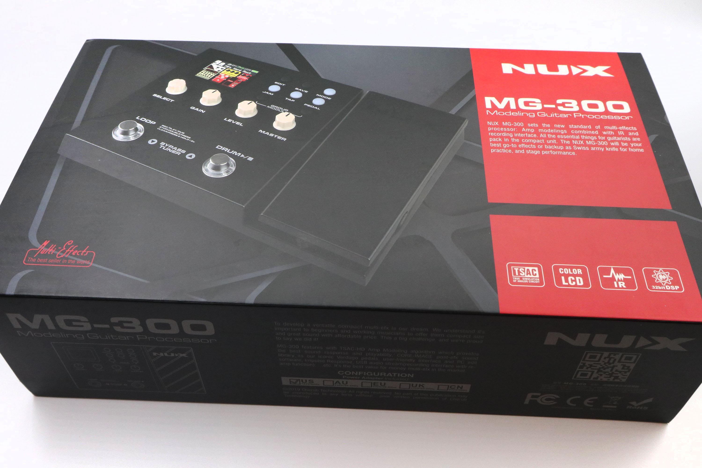 【老羊樂器店】開發票 NUX MG-300 電吉他 綜合效果器 效果器 原廠公司貨 免運