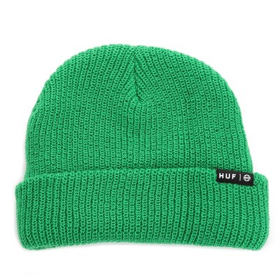 〔Bigforty〕HUF USUAL BEANIE - KELLY GREEN 針織毛帽