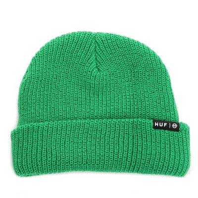 〔Bigforty〕HUF USUAL BEANIE - KELLY GREEN 針織毛帽