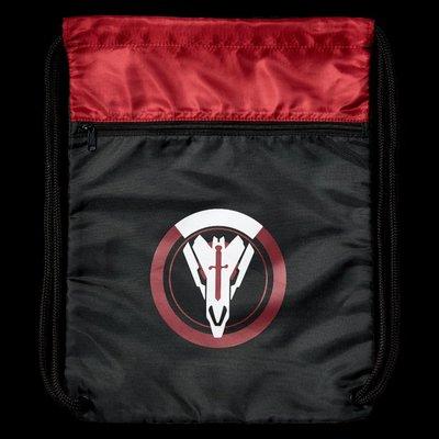 【丹】暴雪商城_Overwatch Retribution Cinch Bag 鬥陣特攻 黑衛部隊 小背帶 束口袋
