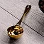 Driver 咖啡豆匙10g 香檳金色 採高級食品級...