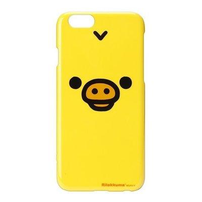 尼德斯Nydus~* 日本正版 San-X 拉拉熊 懶懶熊 硬殼 手機殼 小雞 豬鼻雞 大臉款 4.7吋 iPhone6