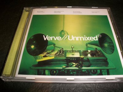 CD--VERVE/UNMIXED/含側標,德國版