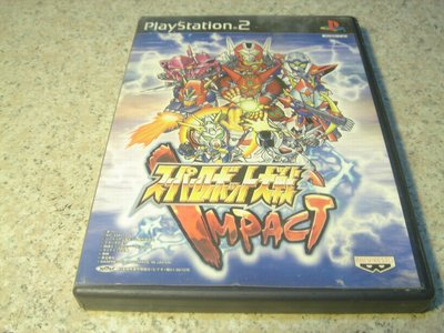 PS2 超級機器人大戰IMPACT 日文版 直購價500元 桃園《蝦米小鋪》
